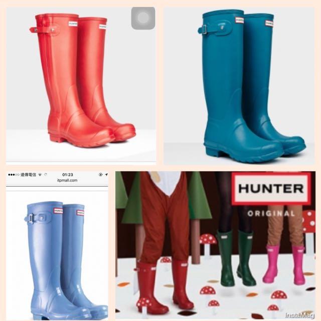 🎀徵HUNTER雨鞋35/36號均可