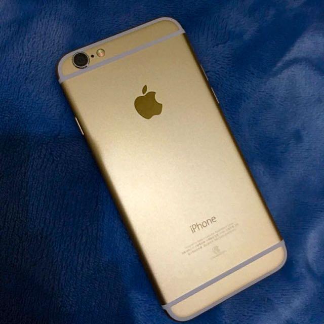 I Phone6土豪金64G(4.7吋)無誠意勿私訊女用機極新
