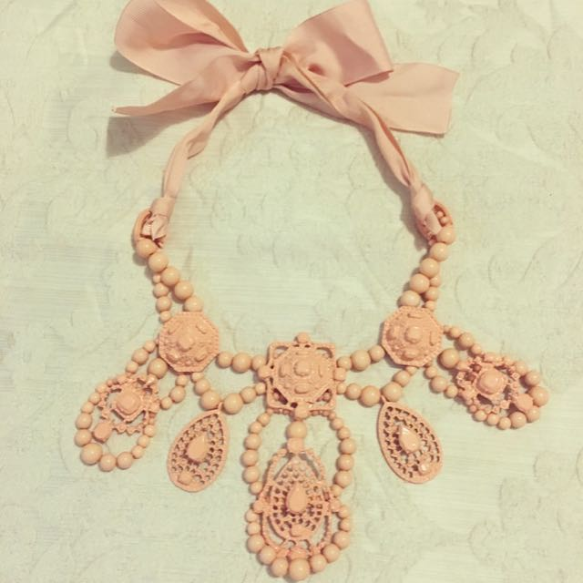 Regal Pink Necklace 3 FOR $12