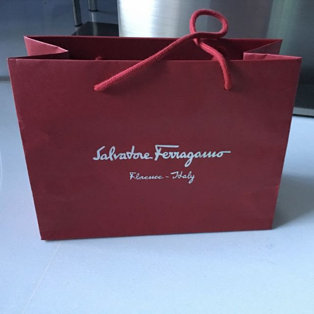 a719777efb6c SALVATORE FERRAGAMO Paper Bag (small)