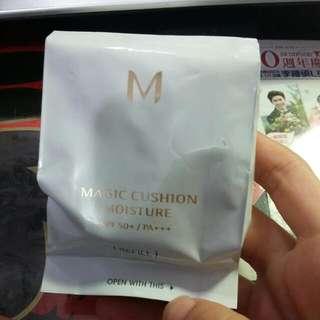 Missha 氣墊粉餅金色 補充包