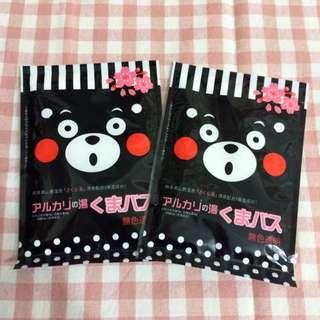 熊本熊-日本 地の鹽 溫泉入浴劑