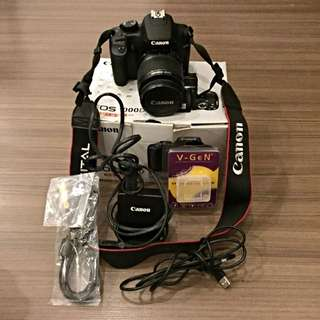 Canon EOS 1000D DSLR Complete with Extras!