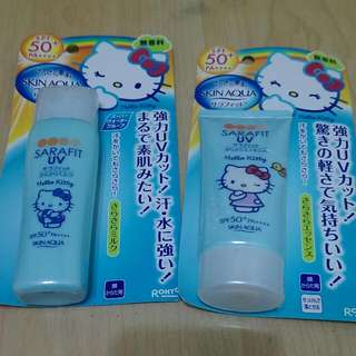Hello Kitty 日本製防曬50%spf
