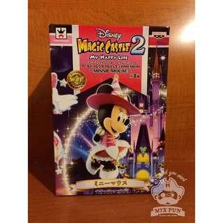 日本迪士尼 MEGA WCF之 MagicCastle 2 米妮 景品