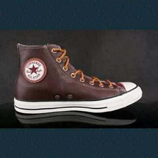 皮革Converse Chuck Taylor All Star Hi Leather Chocolate