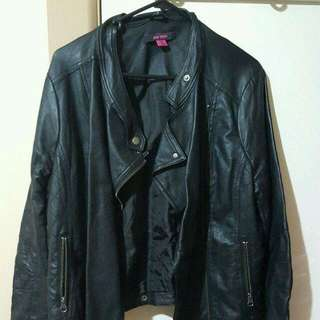 Jay Jays Faux Leather Jacket Size 16