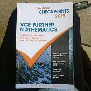 Cambridge Checkpoints 2015 VCE Further Mathematics