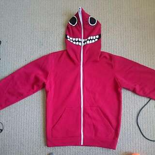 Matryoshka Cosplay Red Hoodie Jacket