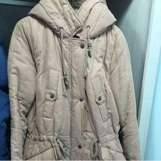 韓妮粉色外套