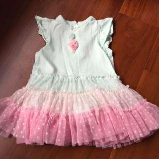 美國購入 Little Me 蓬蓬裙洋裝 Size 18m