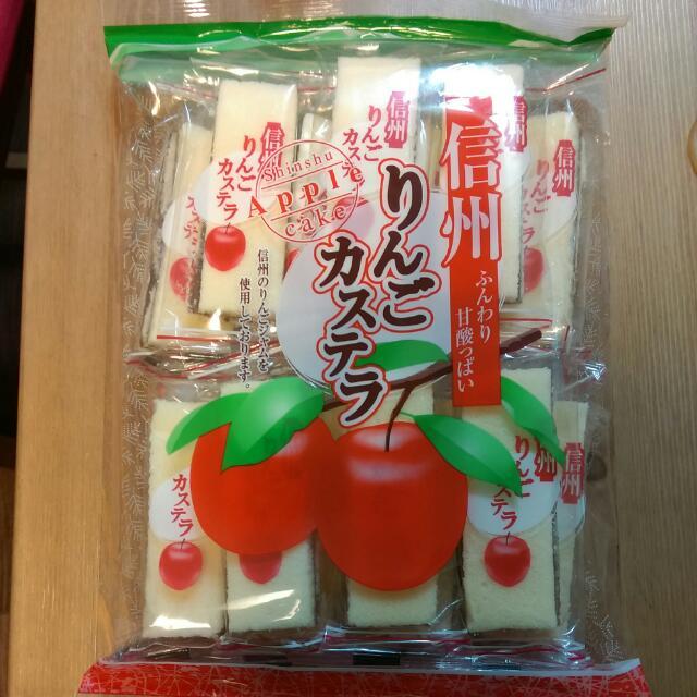 日本大昇蘋果蛋糕-125元