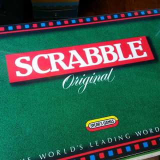 Scrabble Set! Old Vintage Unopened Misb