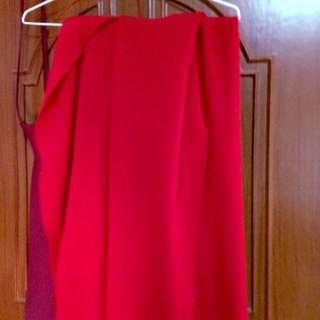 紅色圍巾🎉