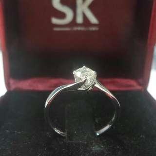 Diamond Ring (18K WG)