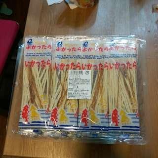 日本一榮魷魚絲30入-330元