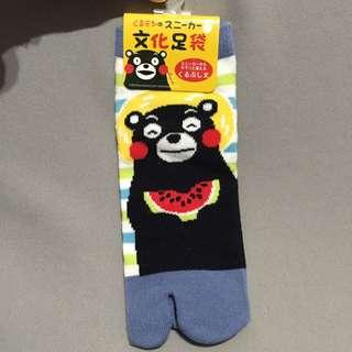 ✨含運✨熊本熊 Kumamon 襪子