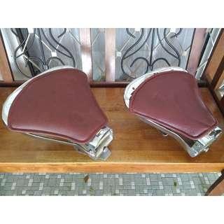 Chromed Vespa Single Seats