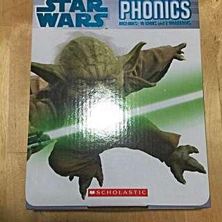 Free Mailing! Star Wars Phonics Scholastic 10 books 2 Workbooks Brand New