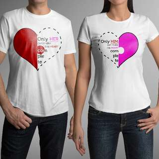 My Only Love Matching Couple Shirts for Valentines Day