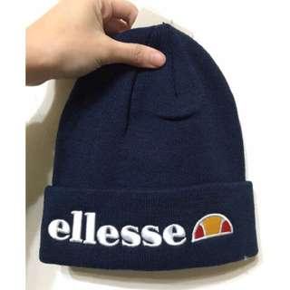Ellesse深藍電繡毛帽