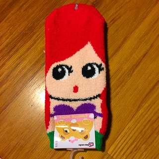 🇰🇷美人魚珊瑚絨襪襪🇰🇷