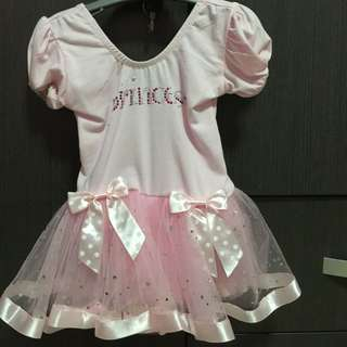 Princess Dress For 6-15months (Used Once Only)