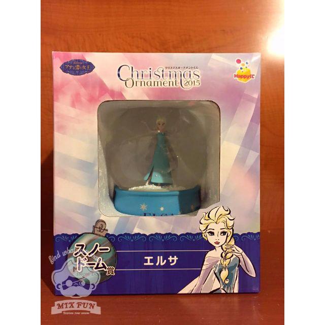 日本2015迪士尼一番賞-水晶球-冰雪奇緣Frozen 艾莎Elsa