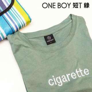 ONE BOY 短T 綠