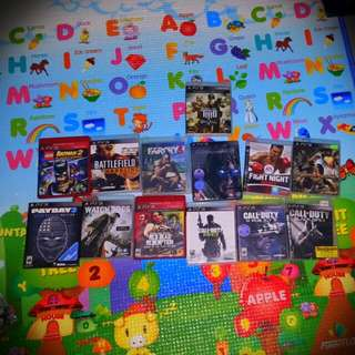 Selling All My Ps3 Games.
