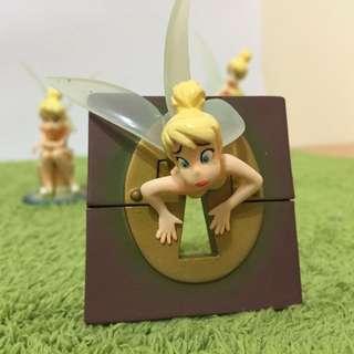YUJIN 絕美難收 CP值超高 已絕跡 愛忌妒的Tinker Bell 奇妙仙子/小仙女/小仙子 卡在鑰匙孔的小仙子