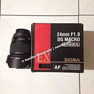 Sigma 24mm f1.8