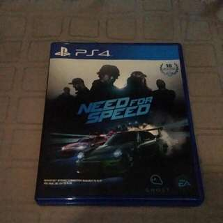 ps4  need for speed game