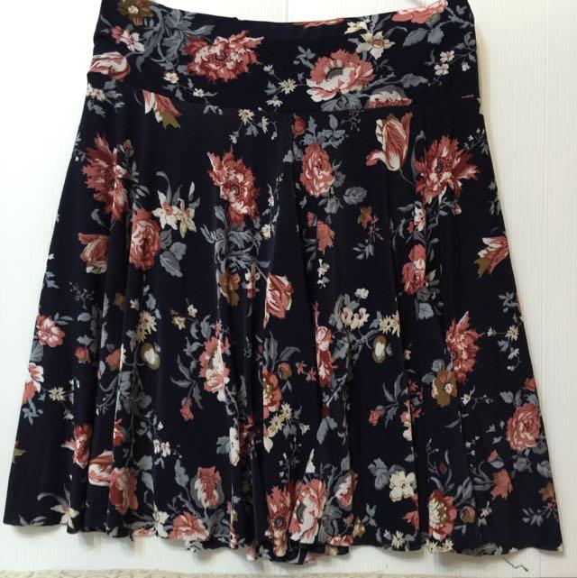 【二手】💞絲質花裙💞