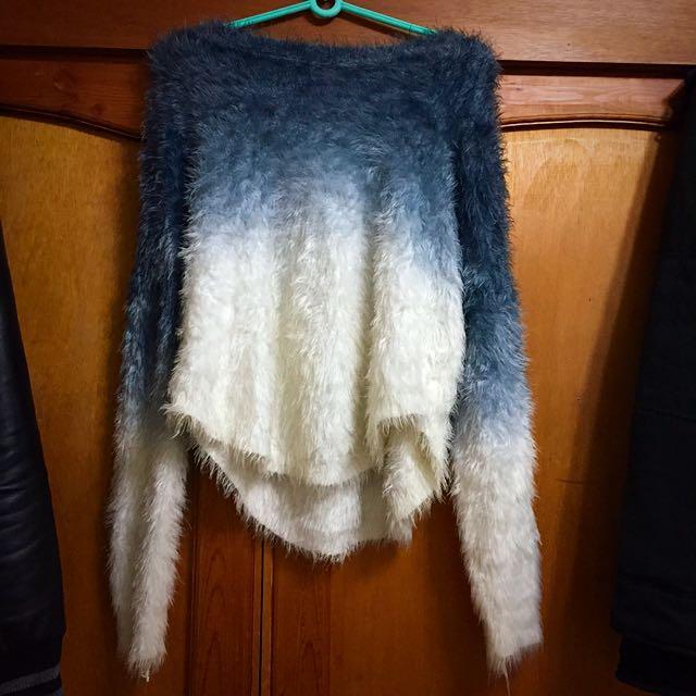 漸層毛衣(含運)