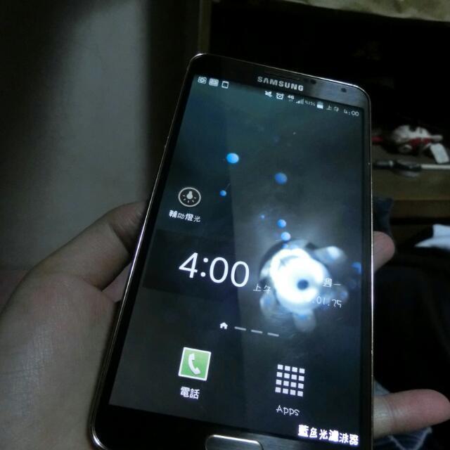 <二手> 8.5成新 三星 Note3 16G N900u 16G 4G LTE 全頻 /【限量黑金】