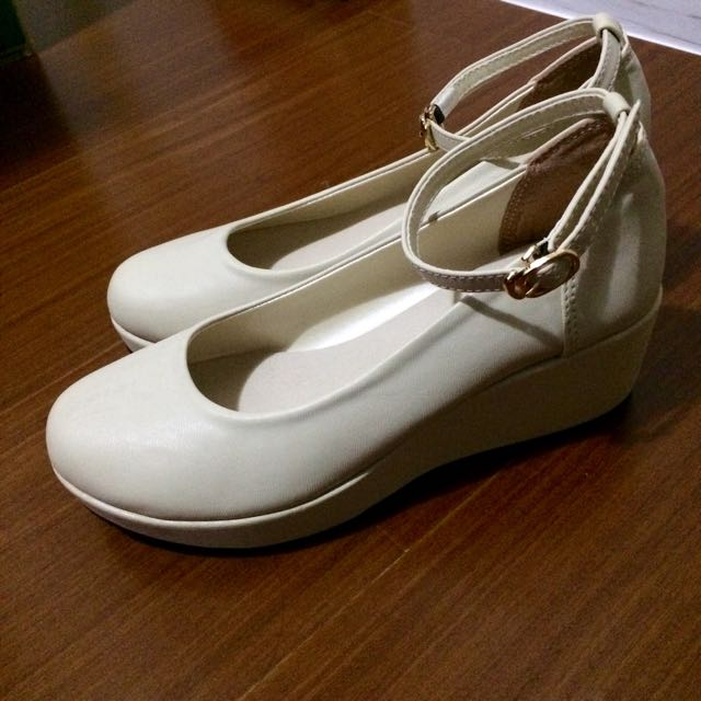 瑪莉珍械型鞋 粉 23-23.5
