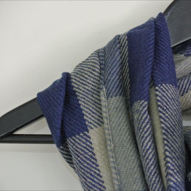 (現貨)格子 流蘇 保暖 冬季戀歌 百搭 過年戴新巾 情侶圍巾