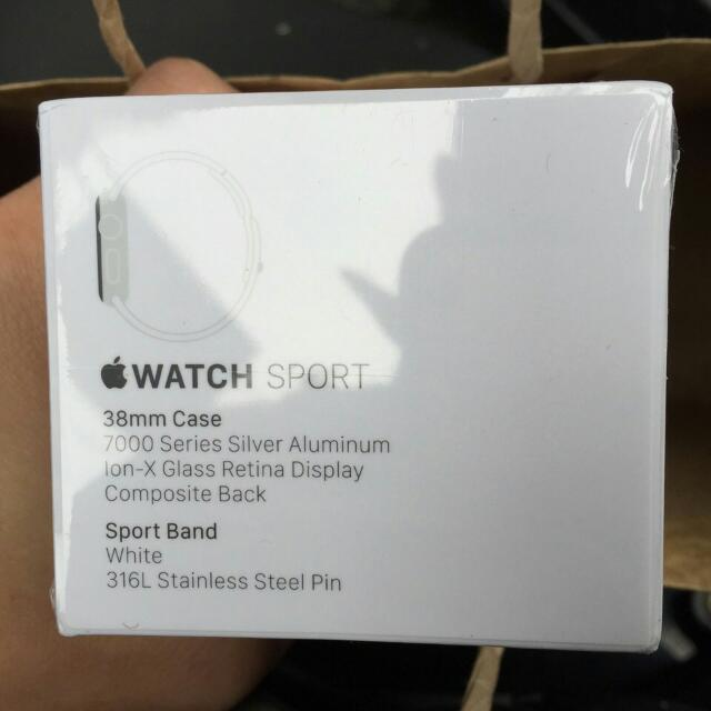 (降 🎉全新🎉Apple Watch 白 38mm (洽談中)
