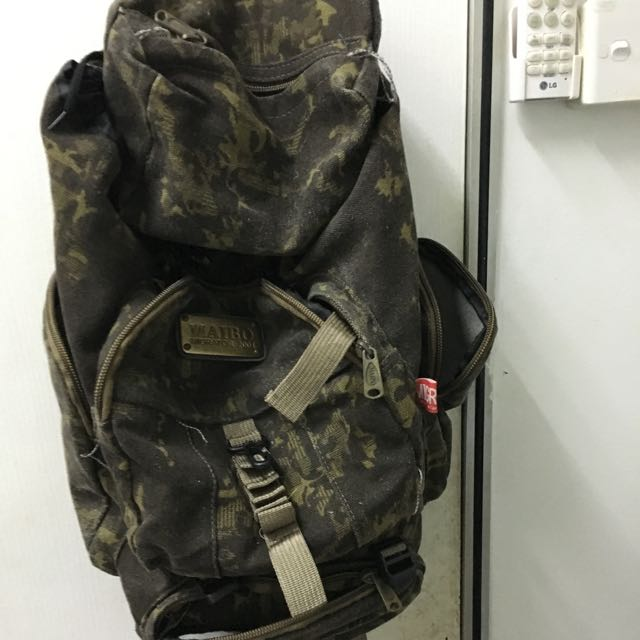 Army Green Travel Bag