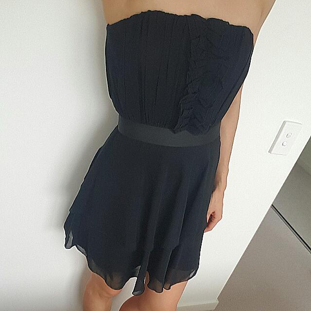 Black Strapless SHEIKE Dress