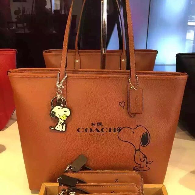 7012f88102b Coach Snoopy Bags VIP Sale, Luxury on Carousell