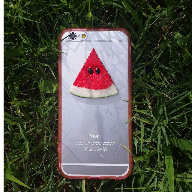 Cute iPhone 6 Case - 3D Watermelon