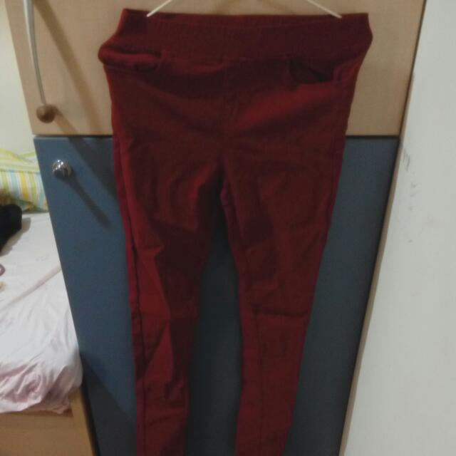 Ibex Sport 紅色內搭褲
