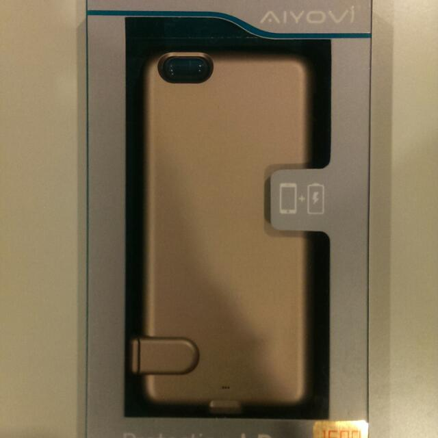 iPhone 6 Power Case (Gold)
