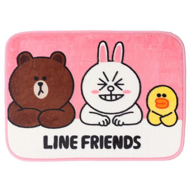 LINE FRIENDS 地墊✨