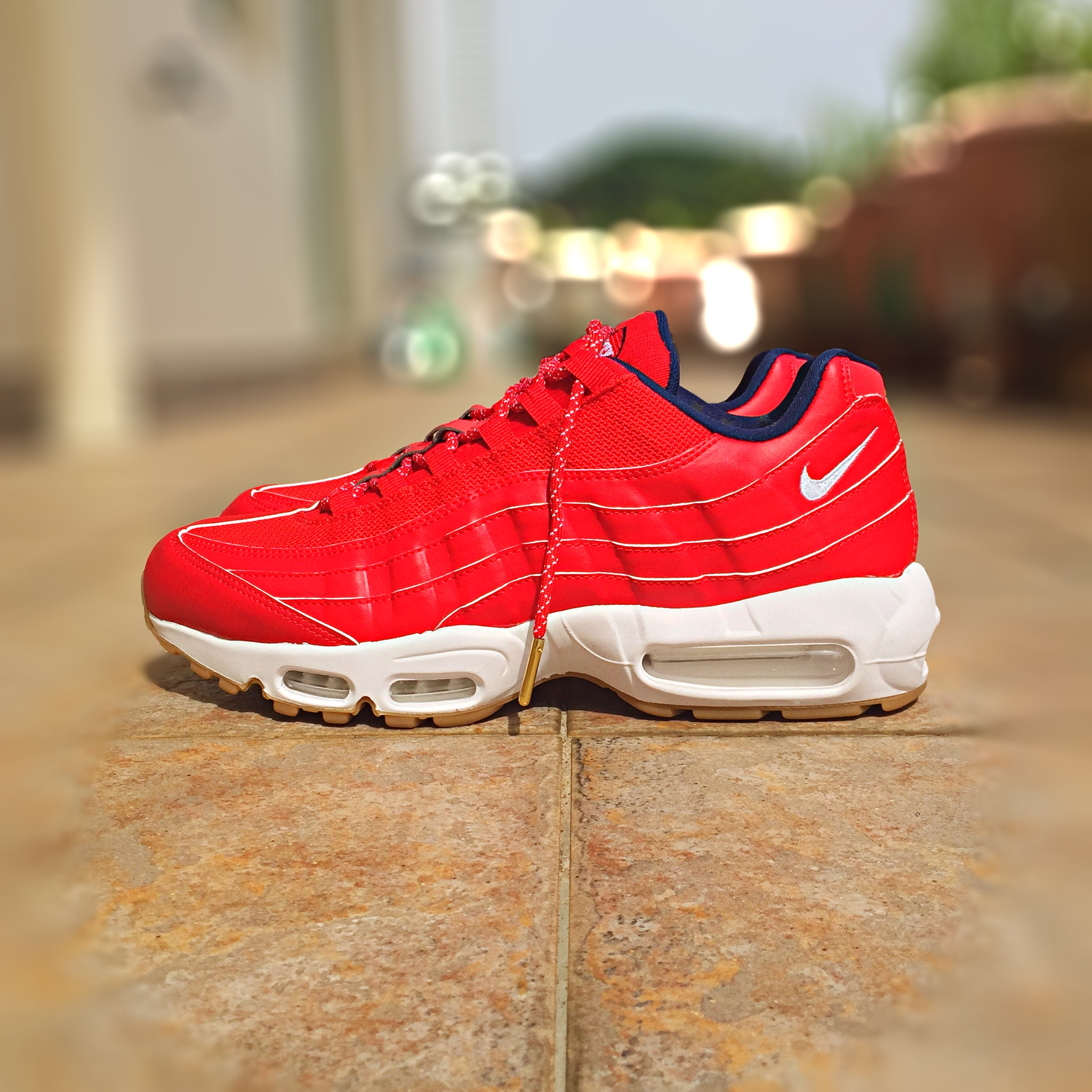 size 40 1b58a 2ccd4 Nike Air Max 95  Independence Day  - US 10.5, Sports on Carousell