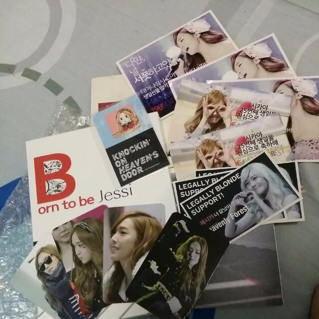 SNSD Jessica Fansite Woorissica 1st DVD & Photobook - Born To Be Jessi