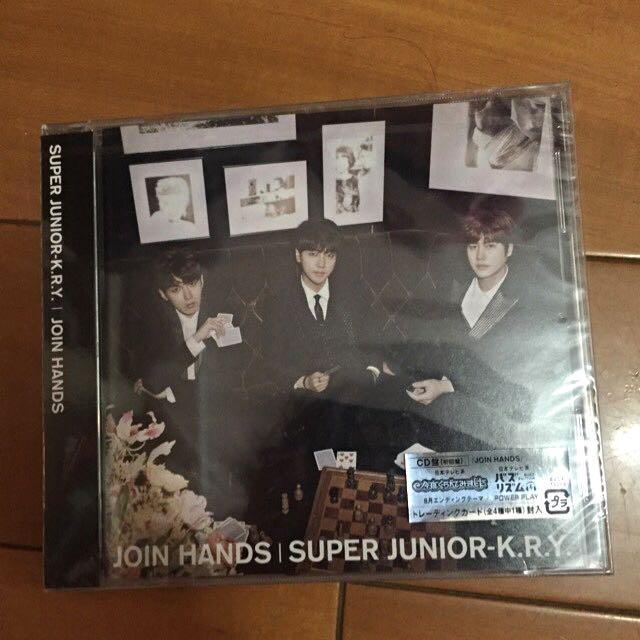 SUPER JUNIOR K.R.Y Join Hands 日版專輯