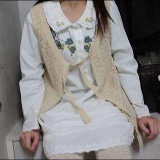 日系刺繡洋裝